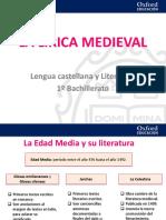 La lírica medieval