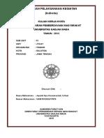Contoh Laporan Pelaksanaan Kegiatan KKN-LPPM UGM