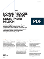 Nomad Reduces SCCM Running Costs by $9.8 Million