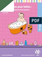 Rapport Cosmétiques pour Bébés Wecf