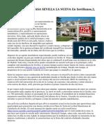 Inmobiliaria MASCASA SEVILLA LA NUEVA En Sevillanos,2,