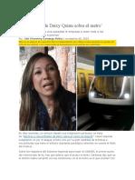 Las Mentiras de Darcy Quinn Sobre El Metro Bogota