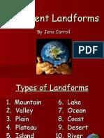 landforms ppt 1g