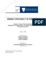Full Report Efficiency in the South