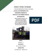 proyecto de ambiental gasolinera