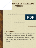 Instrumentos de Medida de Presion