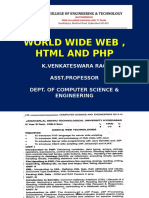 HTML and Php r13