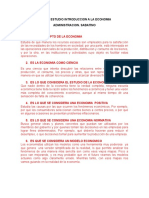 Guia de Estudio Intro. a La Economia 1er Parcial Admon