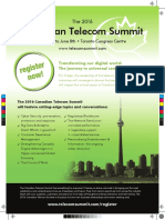 The 2016 Canadian Telecom Summit Ad