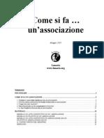 [E-Book - ITA] Come Si Fa Un Associazione