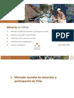 """Consejo Minero """"Mineria en Cifras"""""""