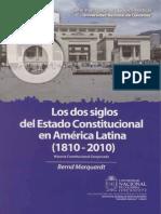 Los Dos Siglos Del Estado Constitucional