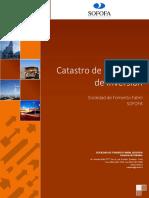 Catastro Proyectos 2014 SOFOFA