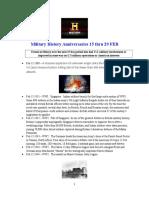 Military History Anniversaries 0215 Thru 022816