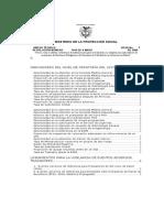 Anexo Técnico Resolución 1446 de 2006