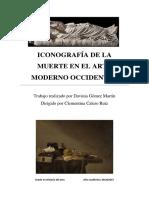 Iconografia de La Muerte en El Arte Moderno Occidental