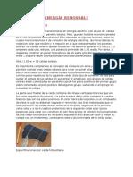 Los Paneles Fotovoltaicos de Silicio