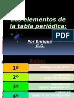 Los Elementos de La Tabla Periódica