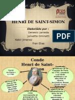 Conde Henri Saint Simon