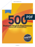 500 Business English Expressions