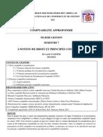 1-Notion de Droit Et Principes Compatbles