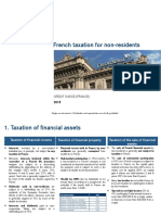 French Taxation for Non Residents - 2015