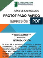 Prototipado Rápido - Impresión 3D