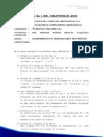 Carta N001
