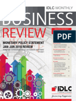 Monthly Business Review - January 2016