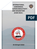 ICSM 2010 Scientific Programme