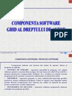 SUPORT CLS09 TIC CAP01 L04 02 Componenta Software, Ghid Al Dreptului de Autor'