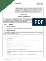 Eucocrete Supreme Guide Specifications b653