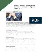 Novo CPC-Confira 14 Coisas Que Você Realmente Precisa Saber Sobre o Novo Código de Processo Civil
