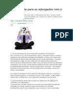 Novo CPC-O Que Muda Para Os Advogados Com o Novo CPC