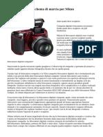 New Step by Step schema di marcia per Nikon