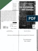 64300184 David Le Breton La Sociologia Del Cuerpo