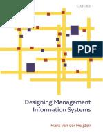 Hans Van Der Heijden-Designing Management Information Systems -Oxford University Press, USA (2009)