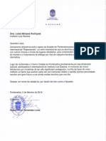 Carta Alcalde