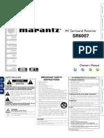 Sr6007u Manual
