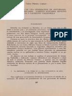 EL PENSAMIENTO DE UNA CENERACION DE HISTORIADORES HISPANOAMERICANOS