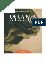De La Kipa a La Cruz - El Viaje de Un Judio - Setbon Jean Marie Elie
