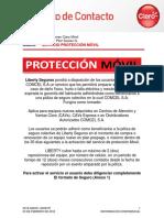 Servicio Proteccion Movil