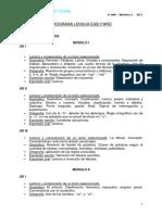 1 Tercero Lengua M Dulo I UD I 2012 Original Original