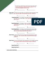 outline handout