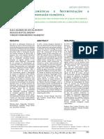 alterações climáticas e securitização