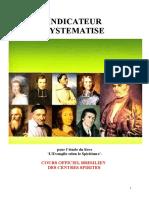 Etudes Et Cours Spirites Complets Suivant l'Evangile (Indicateur Systématisé Manaus Br) Yjs