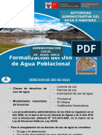 6. Formalización Agraria Poblacinal
