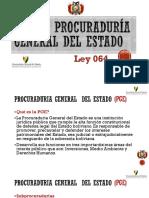 Ley de Procuraduría General Del Estado (LEY 064)