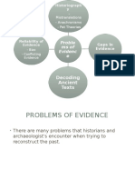 problems with evidence