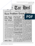 The Daily Tar Heel Tue Jun 19 1951 (Walker Admitted)
